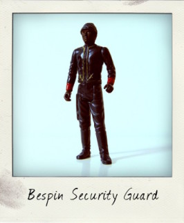 Black Bespin Security Guard