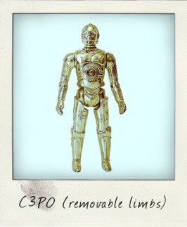 Star Wars Variations: C-3PO Removable Limbs