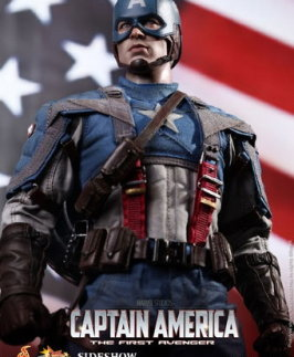 Chris Evans as Captain America by Hot Toys!