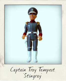 Stand by for action! It's Captain Troy Tempest from Stingray!