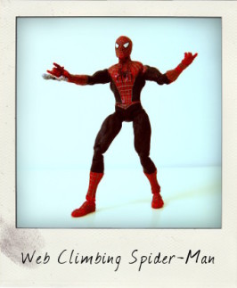 Web Climbing Spider-Man from Spider-Man 2 movie