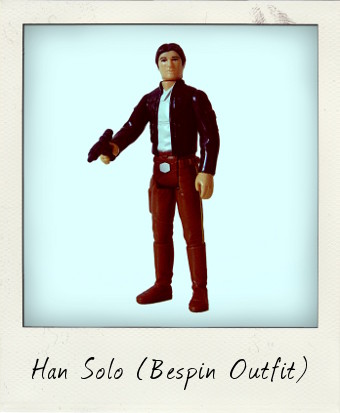Han Solo on Bespin
