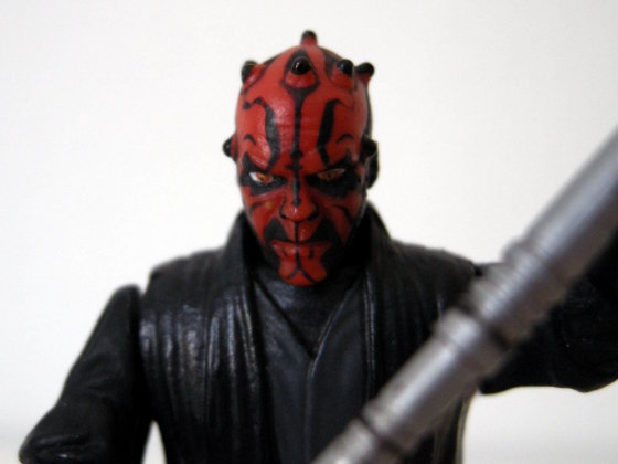 Darth Maul by Hasbro - great attention to detail