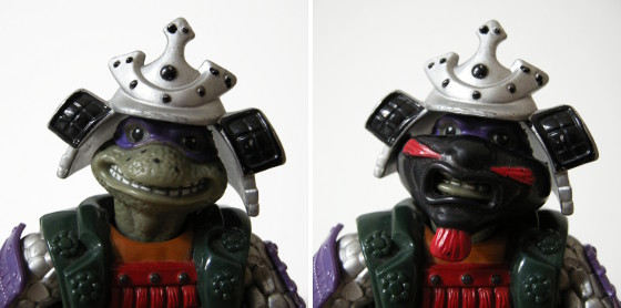 Samurai Don - with and without Honor Guard Mask