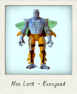 Neo Lord - the Neosapien Super Warrior from Exosquad