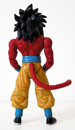 Monkey-tailed Super Saiyan 4 Goku