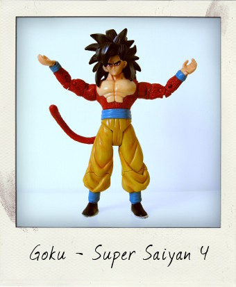 Super Saiyan 4 Goku by Giochi Preziosi