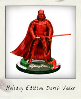 You better watch out…Darth Vader is coming to town!