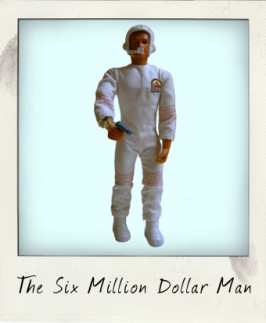 The Six Million Dollar Man on a critical assignment…to Mars!