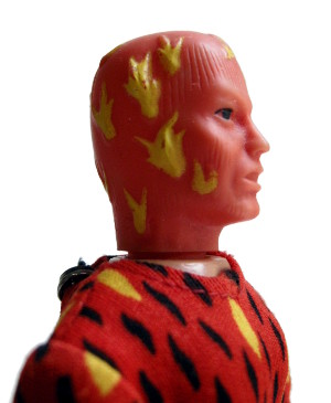 The Human Torch - detail