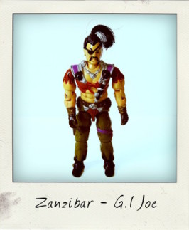 Zanzibar the Pirate… so nasty the other Dreadnoks hate his guts!