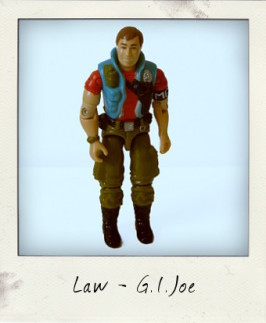 He IS the Law! G.I. Joe: A Real American Hero