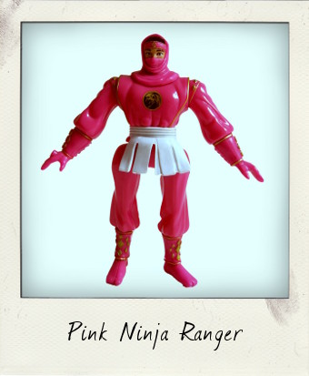 Mighty Morphin Power Rangers Pink Ninja