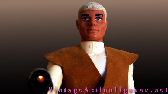 Colonel Warrior and laser gun effect