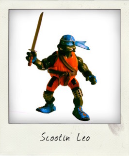 Leonardo – The Extreme Scooter Shreddin' Turtle!