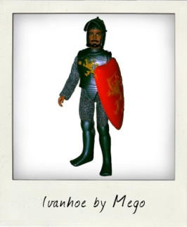 Ivanhoe: The World's Greatest Super Knights by Mego