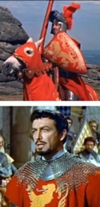 Robert Taylor in The Knights of the Round Table
