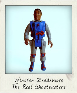 The Real Ghostbusters Screaming Heroes: Winston Zeddemore