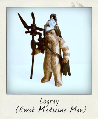 Logray the Ewok Medicine man