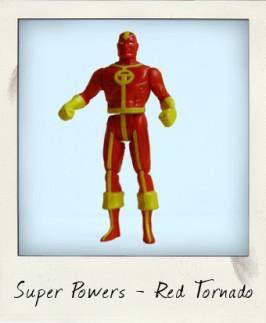 Kenner Super Powers Red Tornado