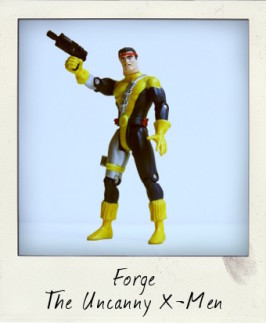 Uncanny X-Men: Forge with Quick Draw Action from Strike Team Set