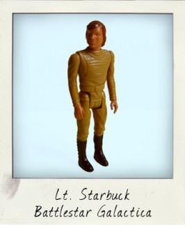Lieutenant Starbuck from Mattel's Battlestar Galactica