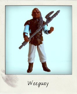 Weequay aka Queequeg – Skiff Guard from 'Return of the Jedi'