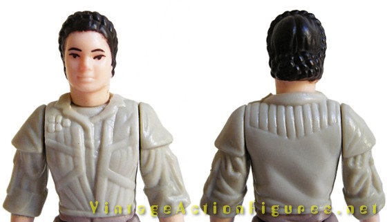 Leia on Endor - body sculpt beneath poncho