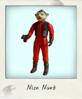 Meet a 'Return of the Jedi' Hero – Nien Nunb!