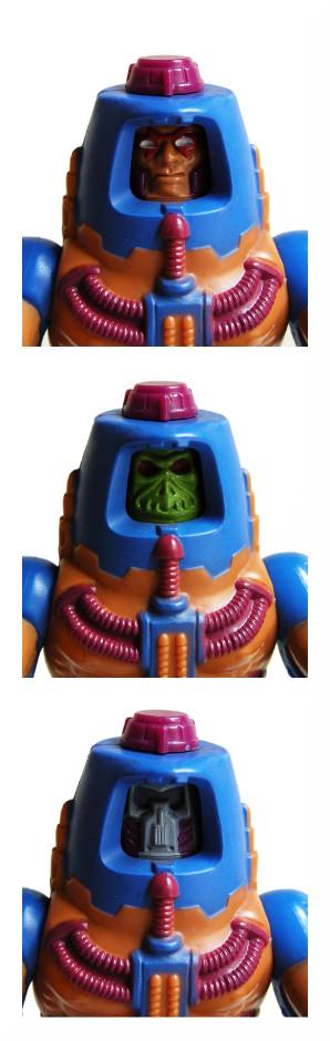Man-E-Faces - Human, Monster, Robot