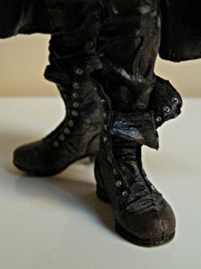 Eric Draven's boots