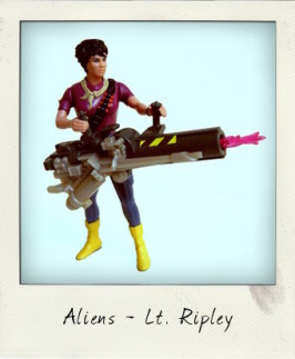 Send in the Space Marines! Lt. Ripley from Aliens by Kenner