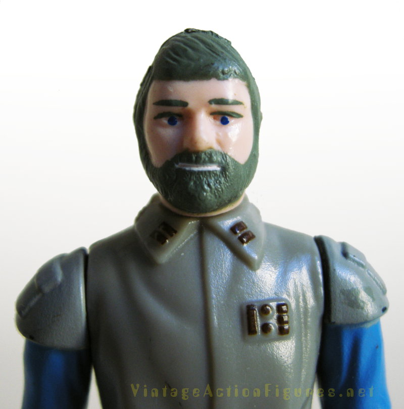 General Madine with green hair