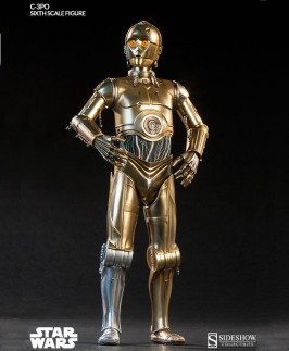 Stunning C-3PO sixth scale figure by Sideshow Collectibles