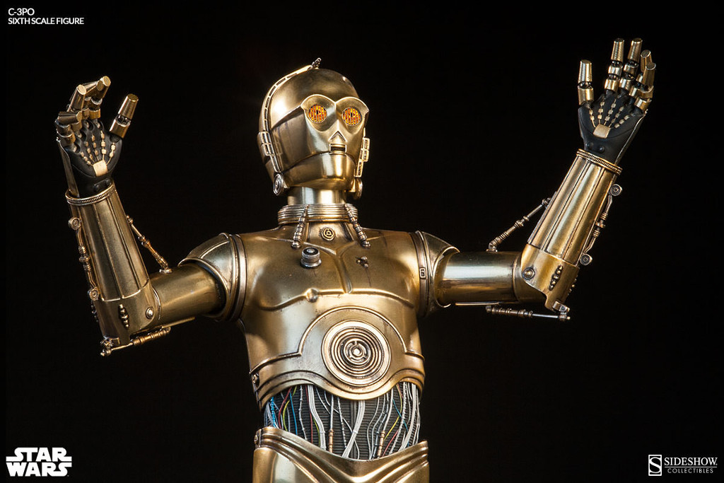 C-3PO by Sideshow Collectibles - attention to detail