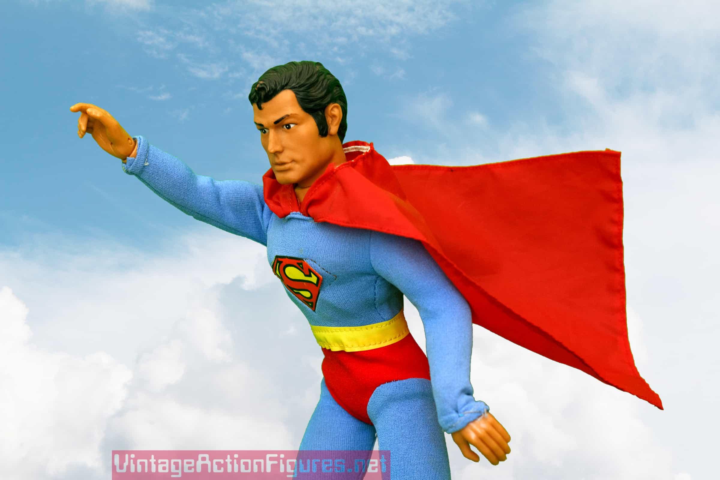 Look! Up in the sky! It's a bird! It's a plane! It's Superman!