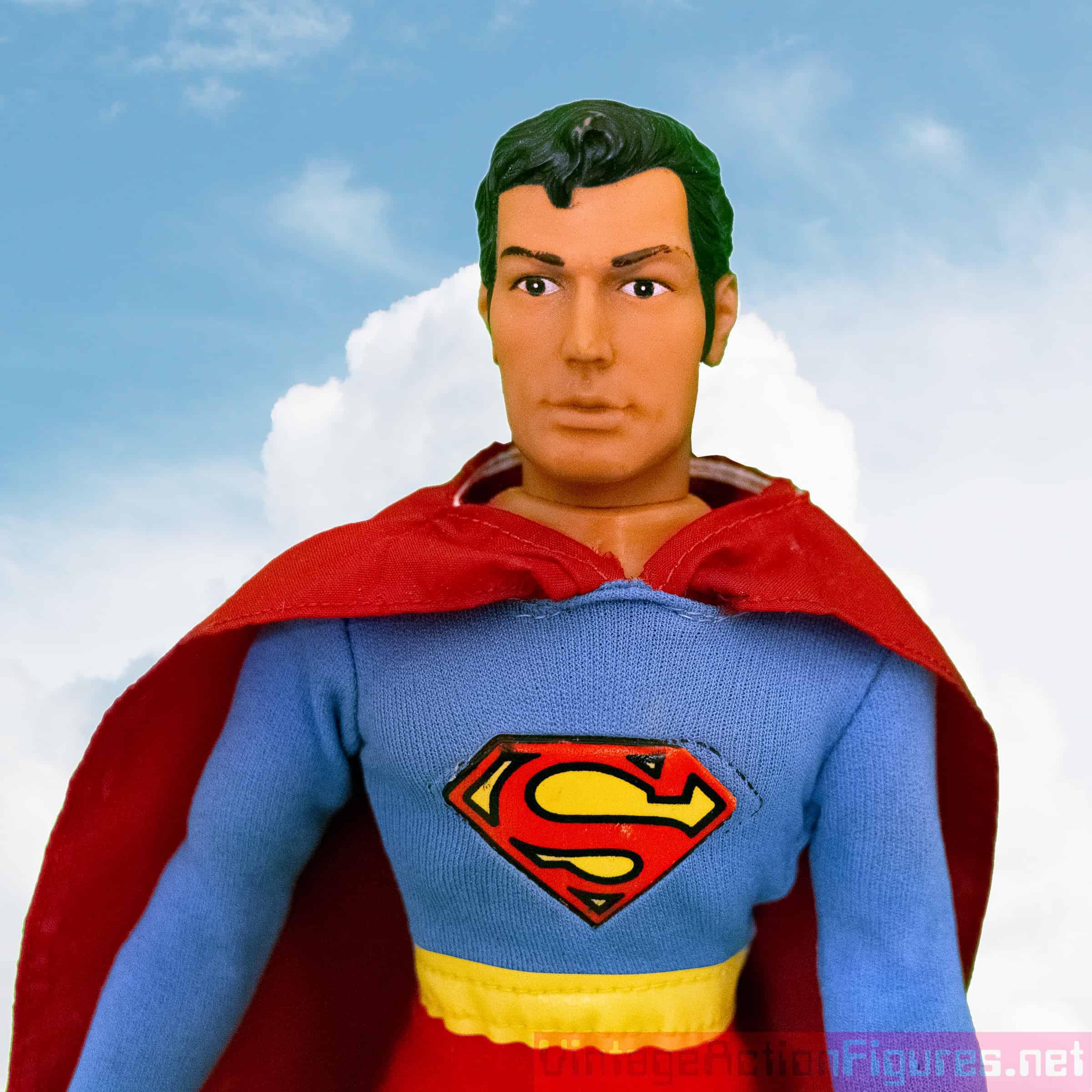 """Comic"" head Superman by Mego"